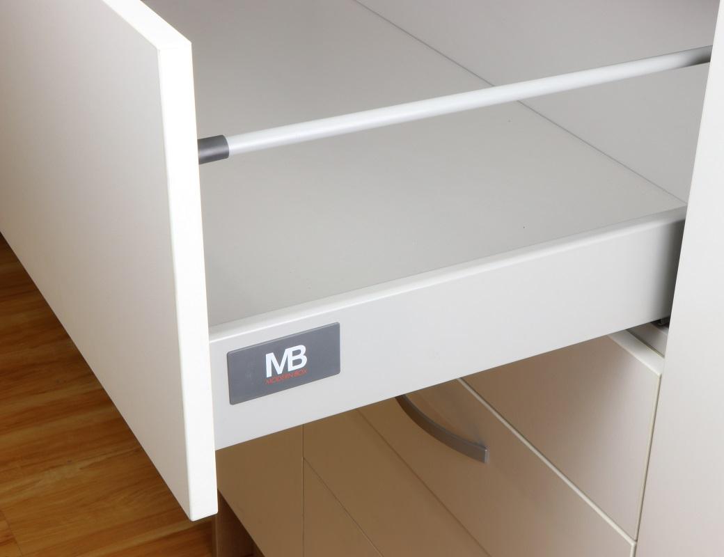 VODILICE ZA LADICE MODERN BOX H=135mm