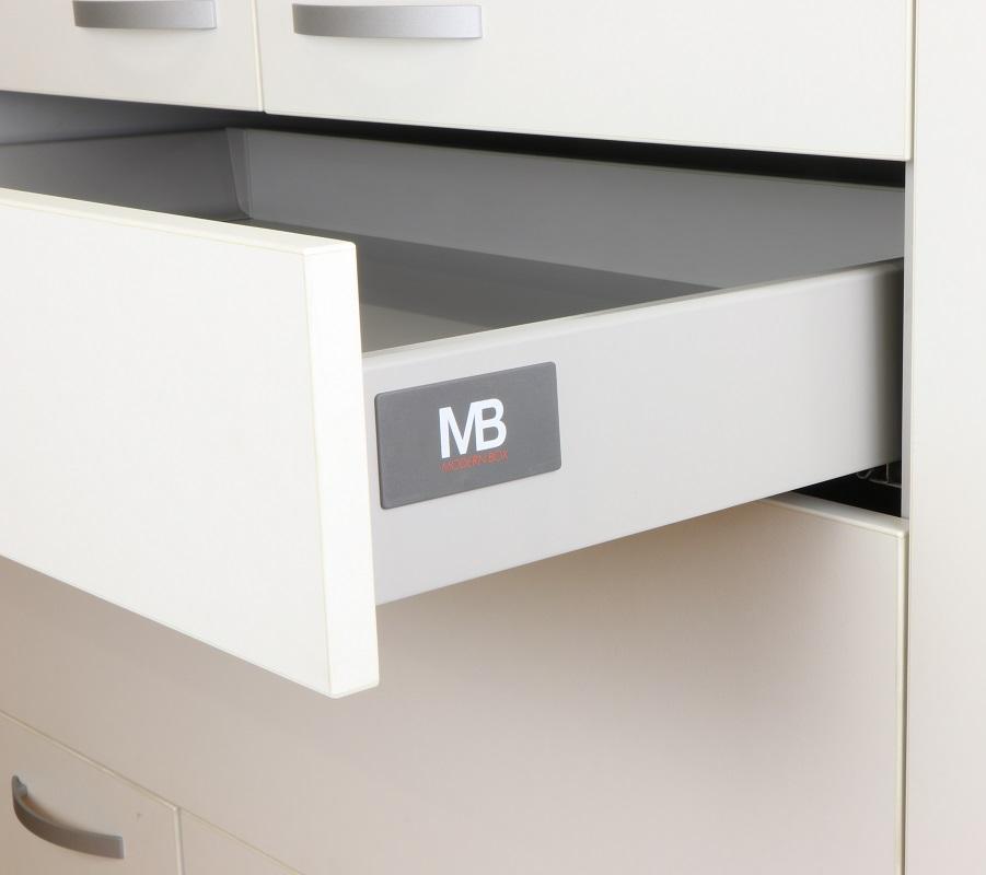 VODILICE ZA LADICE MODERN BOX H=83 mm