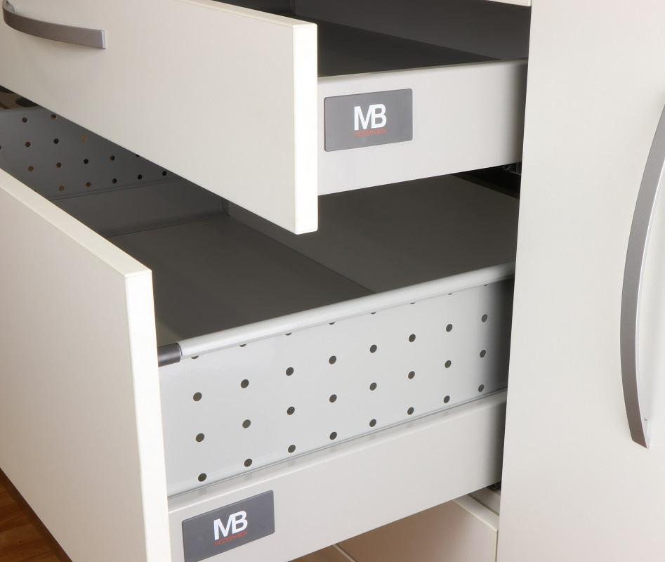 VODILICE ZA LADICE MODERN BOX H=199mm