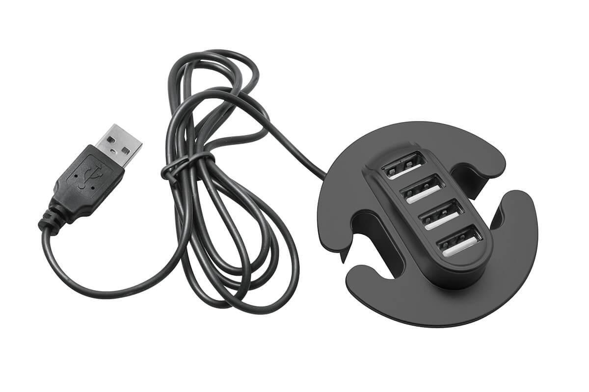 USB RAZDJELNIK UGRADBENI 4 ULAZA