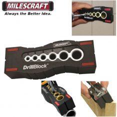 ŠABLONA ZA BUŠENJE RUPA POD KUTOM Milescraft DrillBlock 1362